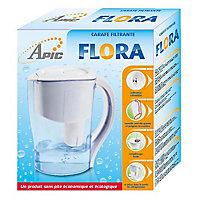 Carafe filtrante sans piles Apic Flora 1.5L