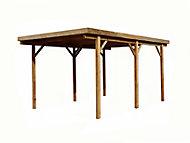 Carport bois 3 x 5 m