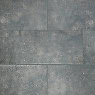 Carrelage extérieur Faktory anthracite 40 x 80 cm