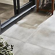 Carrelage extérieur Konkrete gris 60 x 60 cm