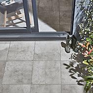 Carrelage extérieur Reclaimed gris 45 x 45 cm