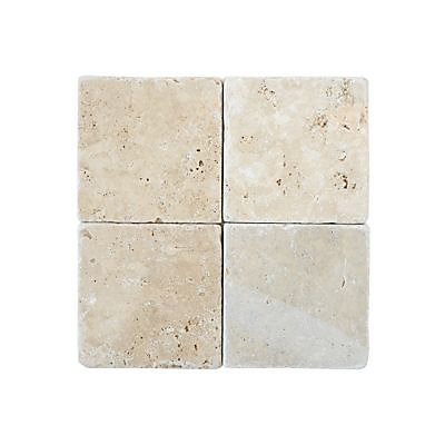 carrelage mur beige effet marbre 20 x 20 cm travertin