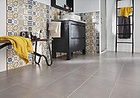 Carrelage mur décor carreaux de ciment 20 x 50 cm Konkrete