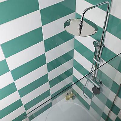 carrelage mur vert d eau effet pierre 20 x 50 cm mina vendu au carton