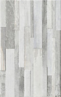 Carrelage mural décor gris 25 x 40 cm Taïga