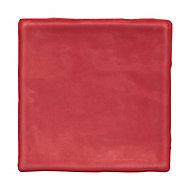 Carrelage mural Vernisse 10x10 cm rouge