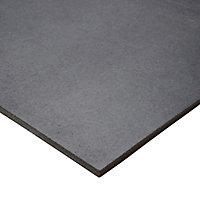 Carrelage sol anthracite 30,7 x 61,7 cm Konkrete