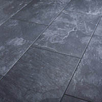 Carrelage sol anthracite 30,8 x 61,5 cm Shaded Slate