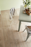 Carrelage sol beige 15 x 60 cm Arrezo