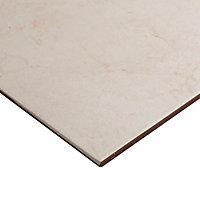 Carrelage sol beige 33 x 33 cm Ideal Marble