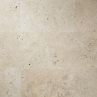Carrelage sol beige 40 x 60 cm Travertino pierre naturelle