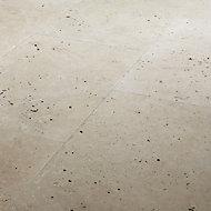 Carrelage sol beige 40 x 60 cm Travertino