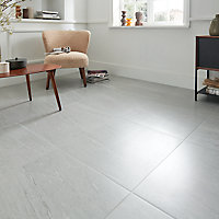 Carrelage sol blanc 60 x 60 cm Natural