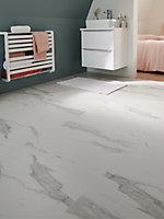 Carrelage sol blanc 60 x 60 cm Ultimate Marble