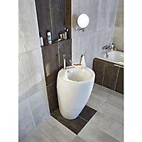 Carrelage sol blanc Dourtio 30 x 60 cm