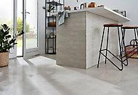 Carrelage sol blanc Lapatto 30 x 60 cm Palemon Stone