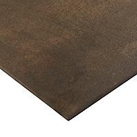 Carrelage sol cuivre lapatto 60 x 60 cm Metalized