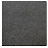 Carrelage sol et mur anthracite 20 x 20 cm Konkrete
