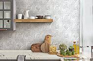 Carrelage sol et mur Koney GoodHome 20 x 20 cm gris