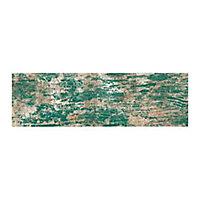Carrelage sol et mur vert 14,4 x 89,3 cm Faro (vendu au carton)