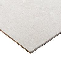 Carrelage sol gris 30 x 60 cm Metal ID