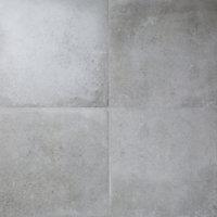 Carrelage sol gris 60 x 60 cm Kontainer