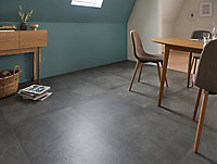 Carrelage sol gris 60 x 60 cm Structured Concrete