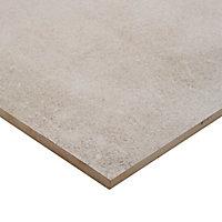 Carrelage sol gris clair 80 x 80 cm Kontainer