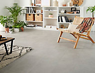 Carrelage sol Lounge aspect béton gris clair 30x60 cm