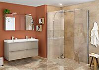 Carrelage sol marron 30 x 60 cm Elegance Marble