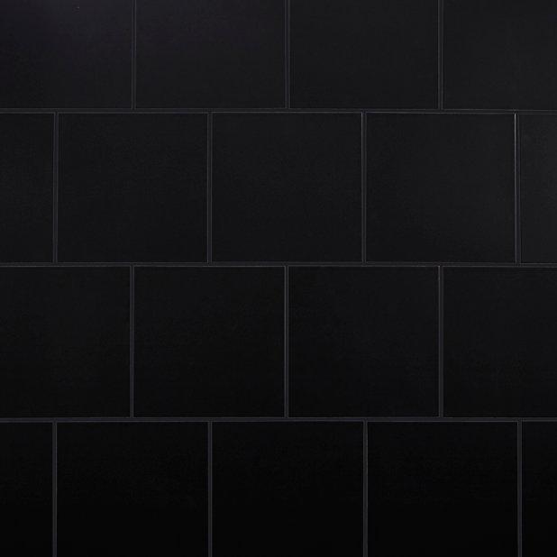 Carrelage Sol Noir 33 X 33 Cm Pescaro Castorama