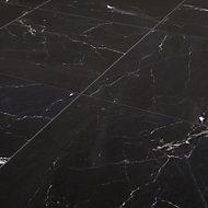 Carrelage sol noir 45 x 45 cm Elegance Marble