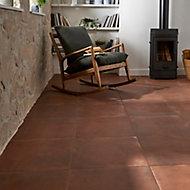 Carrelage sol terracotta 50 x 50 cm Fornace