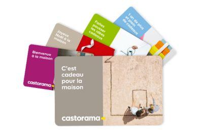 La Carte Cadeau Castorama