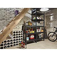 Casier 12 bouteilles en polystyrène coloris gris