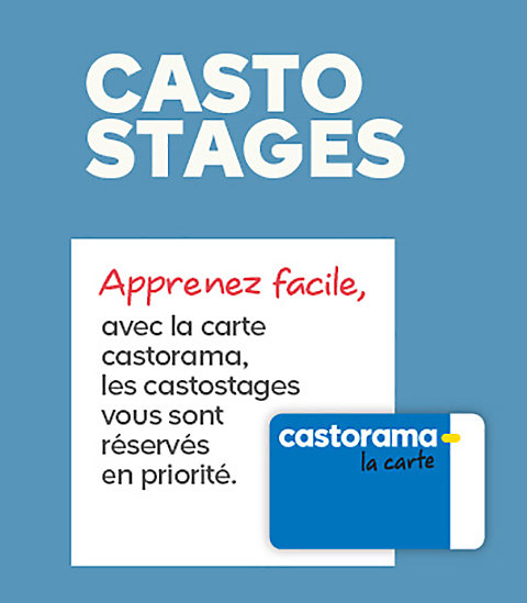 Guide Carte Castorama.Casto Stages Castorama