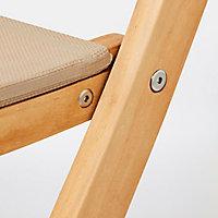Chaise de jardin en bois Blooma Molara pliante (lot de 2)