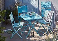 Chaise de jardin Saba vert d'eau