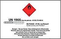 Charge cube 5 kg propane Butagaz