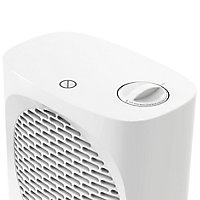 Chauffage d'appoint soufflant GoodHome Colenso blanc 2000W