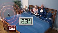 Chauffage d'appoint à technologie thermo céramique Fast Heater noir