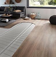 Chauffage par le sol électrique pour parquet 2 m²