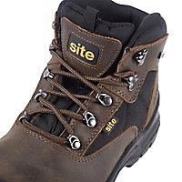 Chaussures de sécurité hautes Onyx imperméables marron Site taille 42