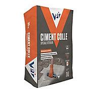 Ciment colle spécial extérieur blanc 25kg
