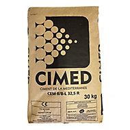 Ciment gris CEM II B-L 32,5 R CE NF Cimed