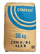 Ciment gris CEM II B-L 32,5 R CE