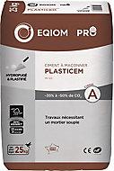 Ciment à maçonner Eqiom Plasticem MC 12,5 CE NF 25kg