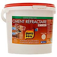 Ciment réfractaire en seau de 3.5 kg