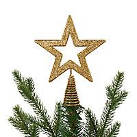 Cimier étoile 15 cm doré