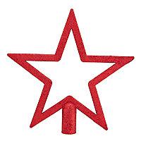 Cimier étoile rouge 20 cm